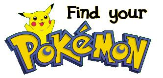 Finde Deinen Pokemon